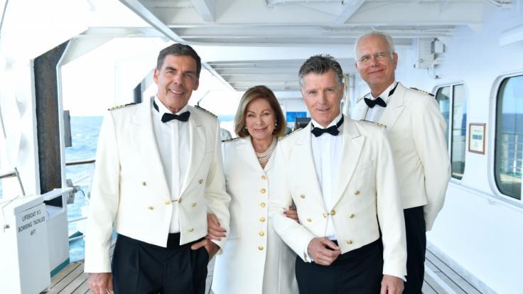 """Der ehemalige """"Traumschiff""""-Star Nick Wilder (3. von links) hatte einen Autounfall. (Foto)"""