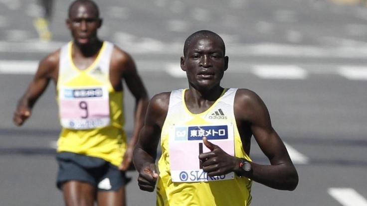 Weltrekord für Dennis Kimetto: Der Berlin Marathon am 28. September 2014 wird am Sonntag live von ARD und RBB übertragen. (Foto)