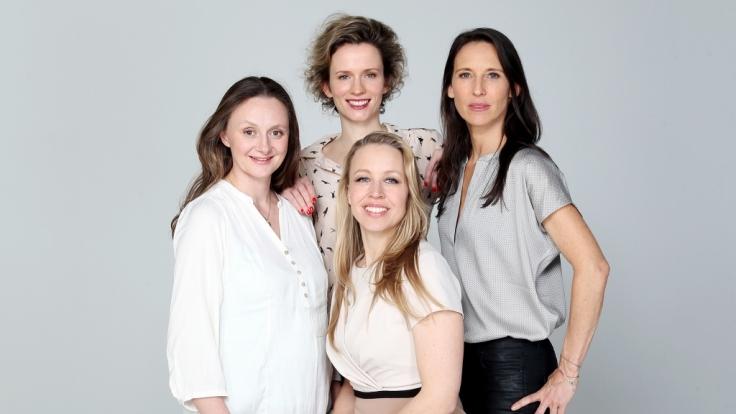 """Die """"Vorstadtweiber""""Adina Vetter (hinten), Gerti Drassl (l), Nina Proll (vorne) und Maria Köstlinger hat die ARD aus dem Programm genommen. (Foto)"""