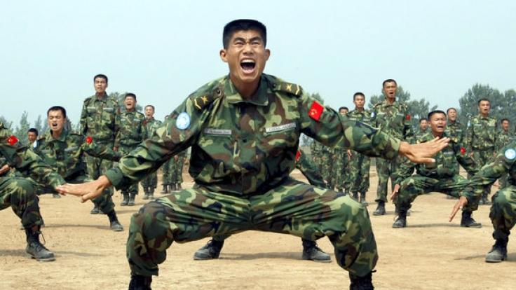 Die Chinesen könnten mit ihrer Geheimwaffe einen entscheidenden Vorteil im falle eines Weltkrieges haben. (Foto)
