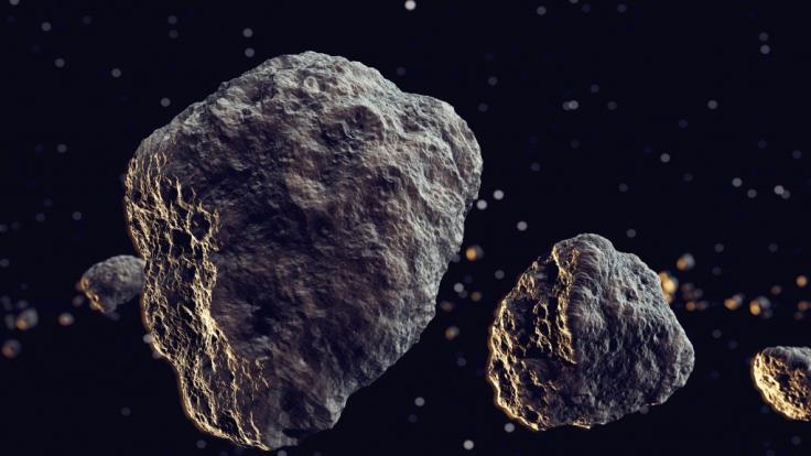 Die Nasa hat ihre Liste um zwei Asteroiden in dieser Woche erweitert. (Foto)