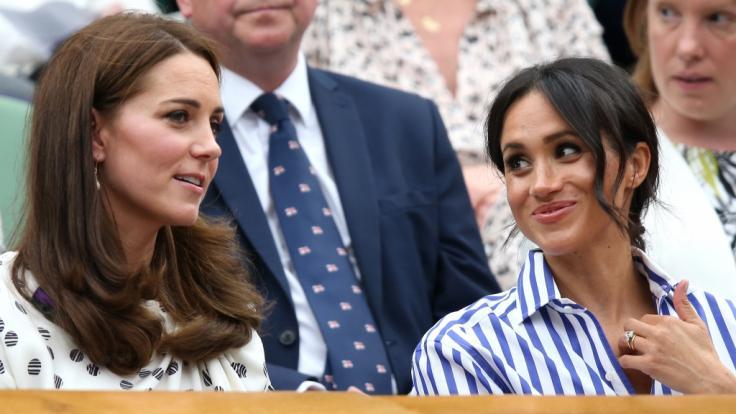 Meghan Markle täte gut daran, sich an ihrer Schwägerin Kate Middleton ein Beispiel zu nehmen - meint zumindest ein Adelsexperte. (Foto)