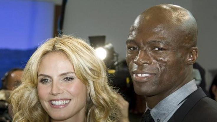 Model Heidi Klum und Sänger Seal sind die stolzen Eltern der 2009 geborenen Lou Sulola Samuel. (Foto)