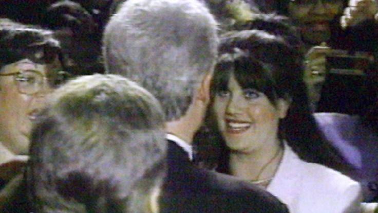 Monica Lewinsky und Bill Clinton kamen sich äußerst nahe. (Foto)