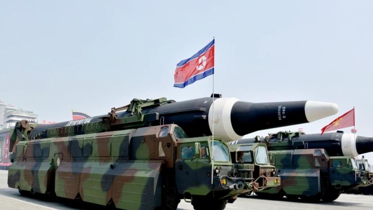 Neue Raketentests durch Nordkorea verunsichern Japan, Südkorea und die USA.