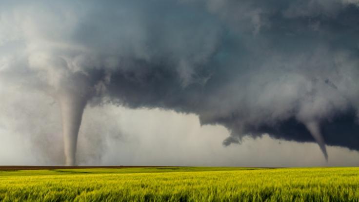 Am Montag droht Tornado-Gefahr in Deutschland. (Foto)