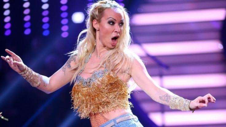 """Cora Schumacher musste in der zweiten Show von """"Let's Dance"""" das Parkett räumen. (Foto)"""