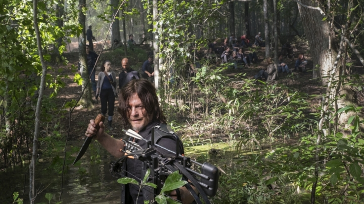 Daryl und Co. versuchen sich nach Hilltop durchzuschlagen. (Foto)