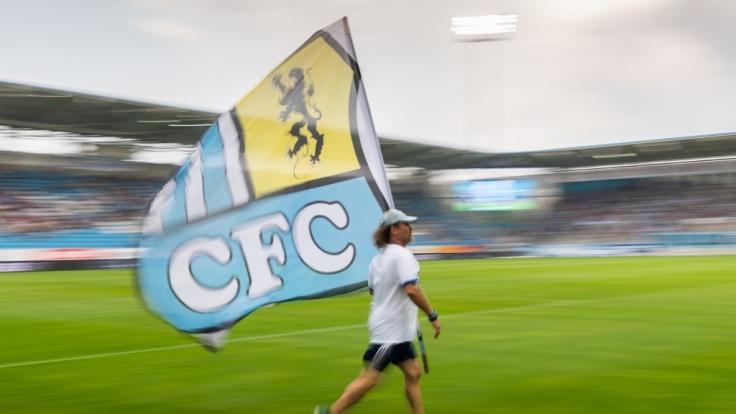 Auch schon vor einem Spiel zeigen Chemnitzer FC-Fans, wie sie ihrem Team Rückhalt geben. (Symbolbild) (Foto)