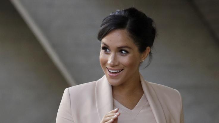 Herzogin Meghan sorgt mal wieder für Schlagzeilen - dieses Mal mit ihrer Nase! (Foto)