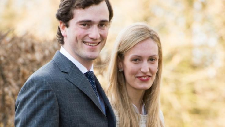 Belgium's Prince Amedeo and Italian journalist Elisabetta Maria Rosboch von Wolkenstein