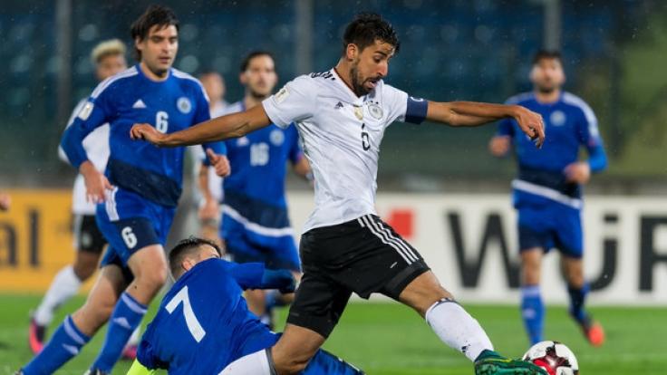 Auch beim letzten Aufeinandertreffen musste sich San Marino geschlagen geben. (Foto)