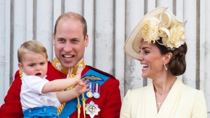 "Prinz Louis war der Star der ""Trooping the Colour""-Parade 2019. (Foto)"