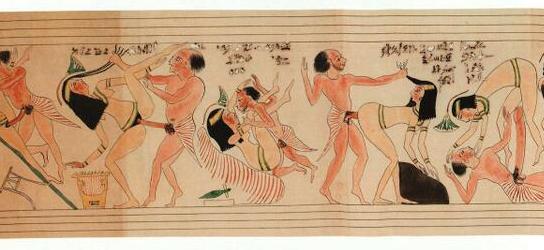 Antike Sex-Protze