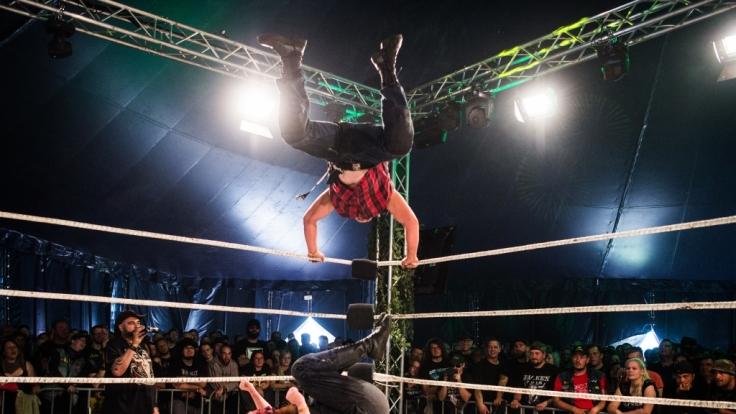 Wrestling ist nicht immer ungefährlich.