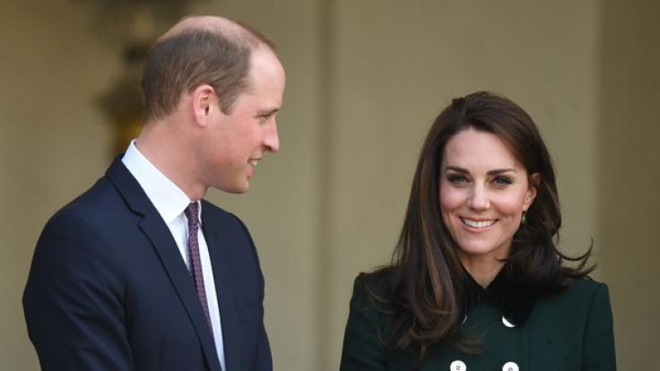 Teurer Spaß: Kate Middleton und Prinz William während ihrer Paris-Reise im März 2017. (Foto)
