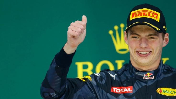 Max Verstappen ist wie sein Vater Formel-1-Rennfahrer.