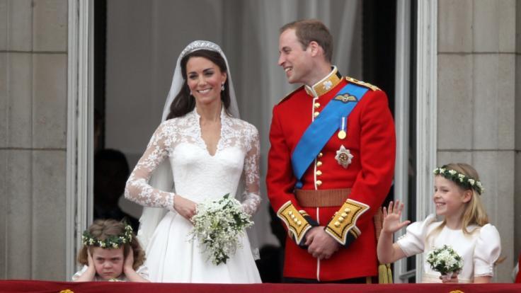 Kate Middleton und Prinz William heirateten am 29. April 2011.