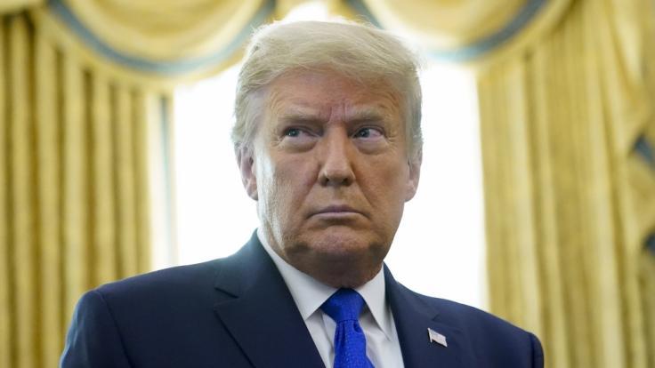 Wandert Donald Trump vom Oval Office ins Gefängnis? (Foto)