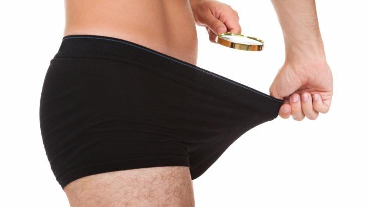 Bei Männern ist der Mikropenis ein Tabuthema. (Foto)