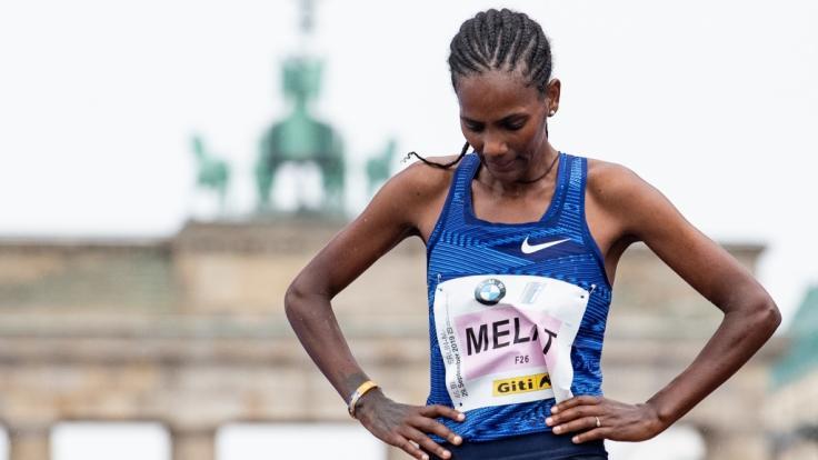 Melat Kejeta vom Laufteam Kassel führt das Damen-Team des Deutschen Leichtathletik-Verbands bei der Halbmarathon-WM 2020 an. (Foto)