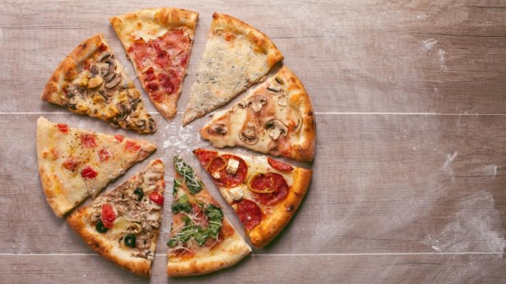 Bei Rewe wird aktuell Pizza der Marke