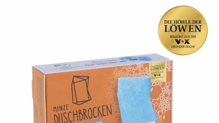 Den Duschbrocken gibt es in drei verschiedenen Duftrichtungen. (Foto)