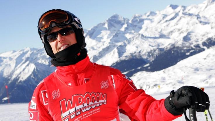 Erfahrener Skifahrer: Michael Schumacher.