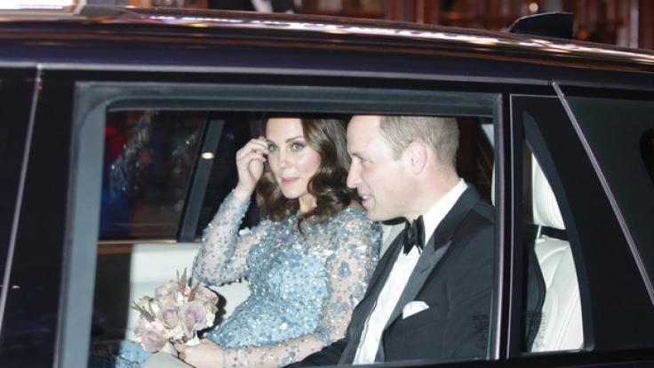 Kate Middleton und Prinz William erwarten im Frühjahr 2018 erneut Nachwuchs. (Foto)