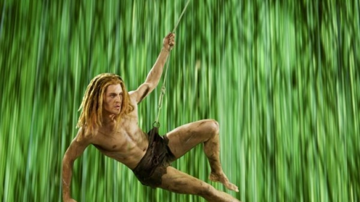 """Sänger und """"Tarzan""""-Darsteller Alexander Klaws während der Proben zum Musical """"Tarzan"""" in Hamburg. (Foto)"""