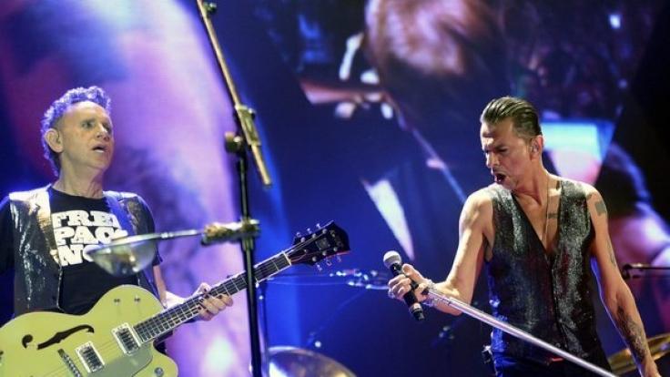 2017 erscheint nicht nur das neue Album von Depeche Mode, die Rocker gehen auch auf Open-Air-Tour. (Foto)