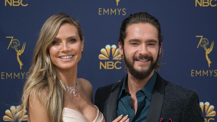 Heidi Klum schwebt mit Tom Kaulitz auf Wolke 7.