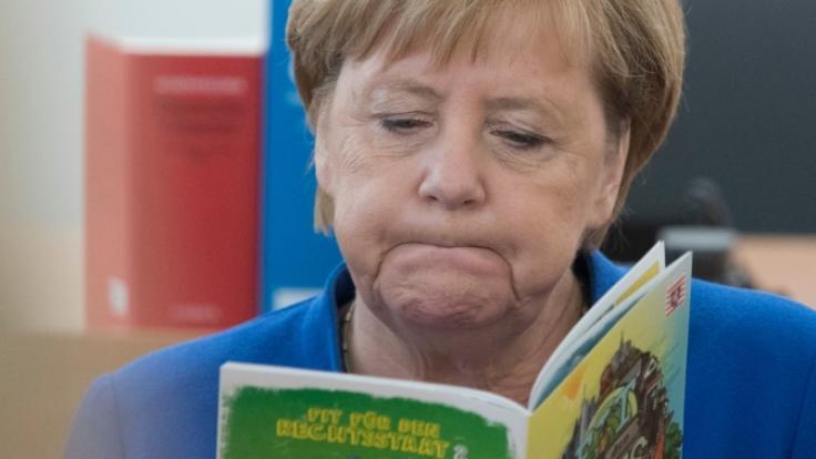 Vor den Landtagswahlen im Osten gibt es in der CDU intensive Debatten über Merkels Wahlkampfeinsatz.