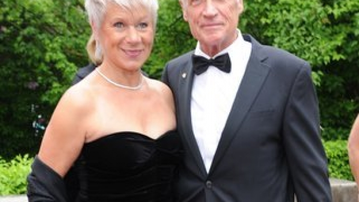 Seit 40 Jahren ein starkes Team: Schauspieler Robert Atzorn und seine Ehefrau Angelika Hartung. (Foto)