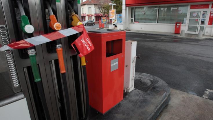 An einer Tankstelle im Süden Frankreichs fielen Schüsse - drei Menschen wurden dabei getötet (Symbolbild).