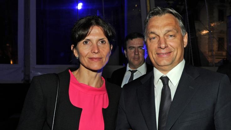Viktor Orban besuchte gemeinsam mit seiner Frau Aniko Levai die Thurn-und-Taxis-Schlossfestspiele 2012. (Foto)