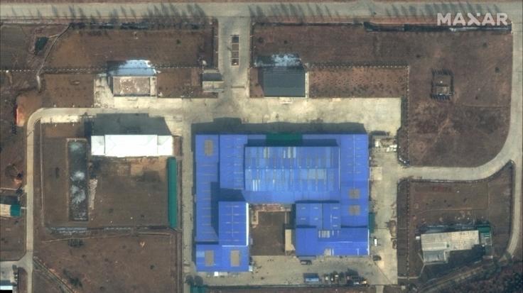 Satellitenbilder zeigen das Forschungszentrum Sanumdong am Rande von Pjöngjang. (Foto)