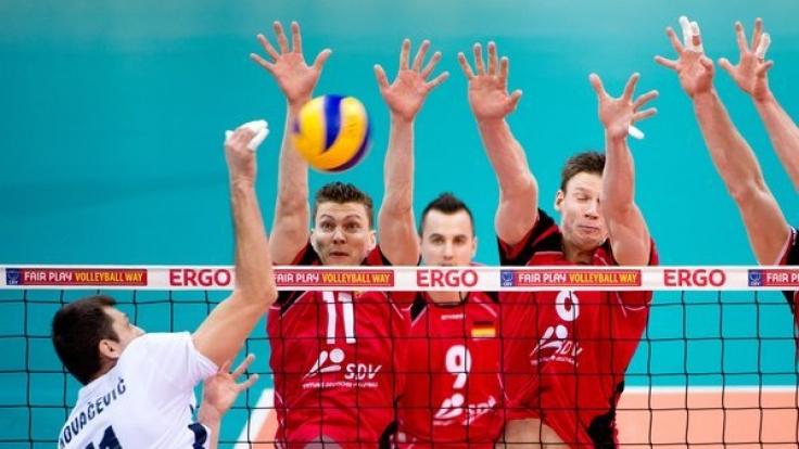 Beim Volleyball-Länderspiel trifft Deutschland auf Belgien.
