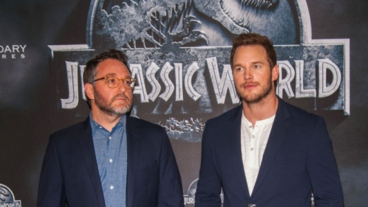 """Regisseur Colin Trevorrow und Schauspieler Chris Pratt sprachen mit news.de über """"Jurassic World"""". (Foto)"""