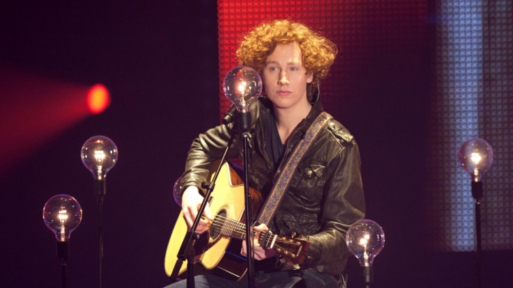 "Michael Schulte im Finale von ""The Voice of Germany"" 2012. (Foto)"