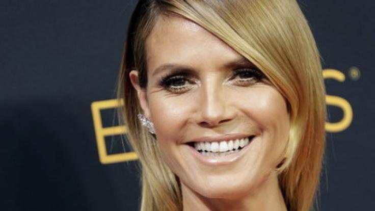 Heidi Klum hat gut Lachen: Privat und beruflich läuft es super. (Foto)