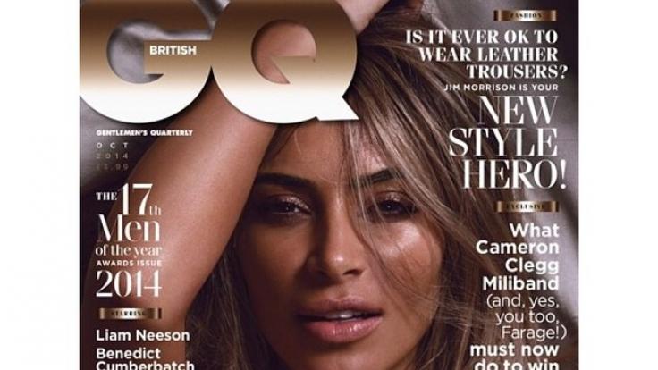 Covergirl der neuen britischen GQ: Kim Kardashian. (Foto)