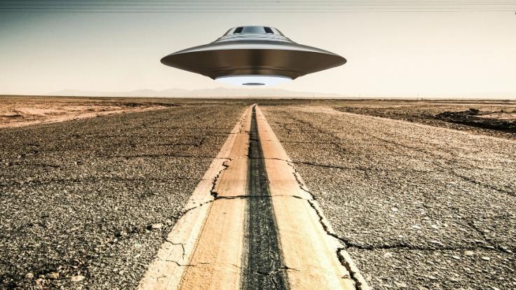 Eine Nasa-Fotografie aus dem Jahr 1965 zeigt ein vermeintliches Ufo über Texas. (Symbolbild)