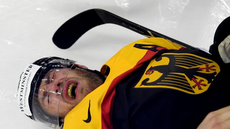 Das deutsche Eishockey-Team kassierte eine weitere WM-Niederlage gegen Russland. (Foto)