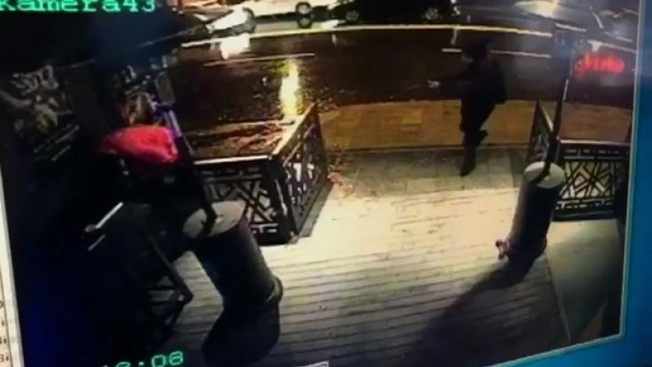 Der Moment des Angriffs im Nachtclub