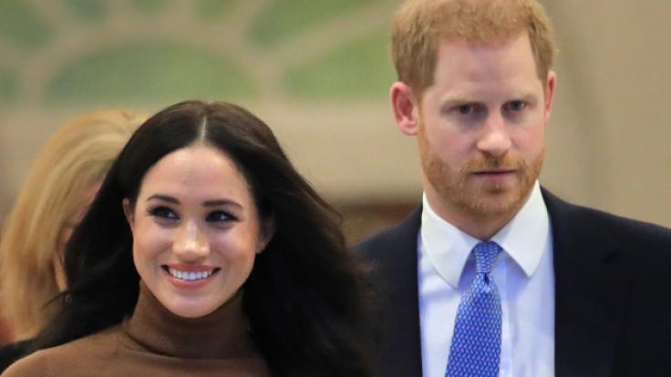 Meghan Markle und Prinz Harry wollen sich ein Leben abseits der Royals aufbauen. (Foto)