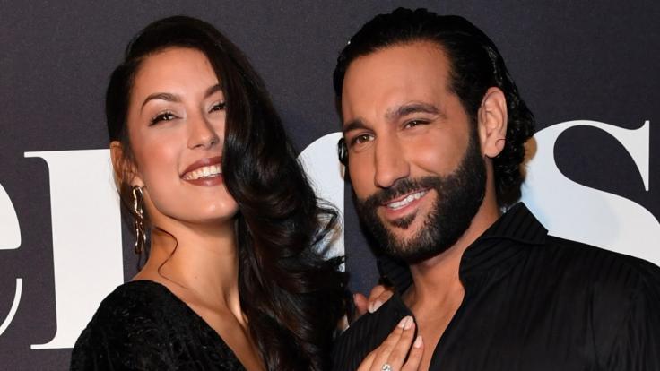 """Rebecca Mir und Massimo Sinato lernten sich bei """"Let's Dance"""" kennen und lieben. (Foto)"""