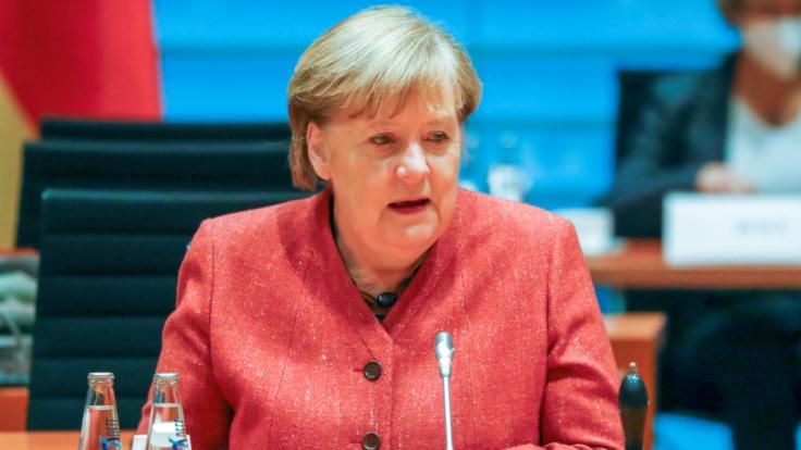 Bundeskanzlerin Angela Merkel (CDU) mahnt zur Vorsicht auch bei einer Inzidenz von 50. (Foto)