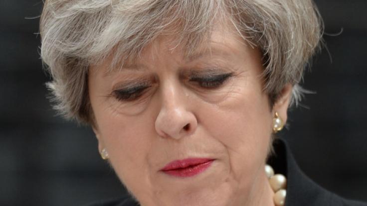 """Ein Anti-Theresa-May-Song mit dem Titel """"Liar"""" wurde erst zum Chartstürmer - und dann aus den britischen Radios verbannt. (Foto)"""