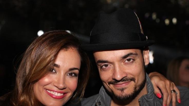 Jana Ina Zarrella und ihr Mann Giovanni.